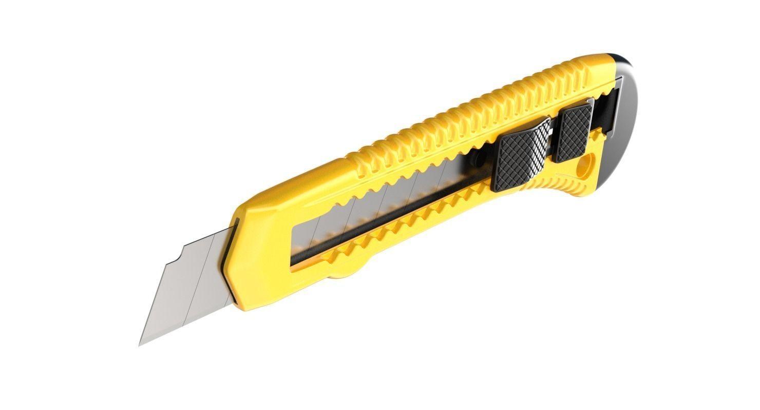 papercutterknife3dmodelobjfbxblend
